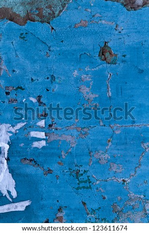 Rust dark blue texture - stock photo