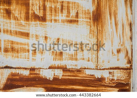 rust, Iron surface rust , Old metal iron rust background and texture. - stock photo