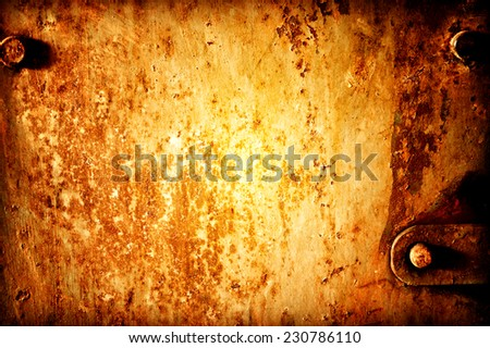 Rust metal texture or background - stock photo