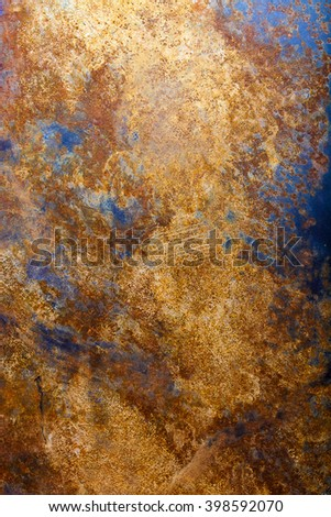 Rust on the metal as a background. - stock photo