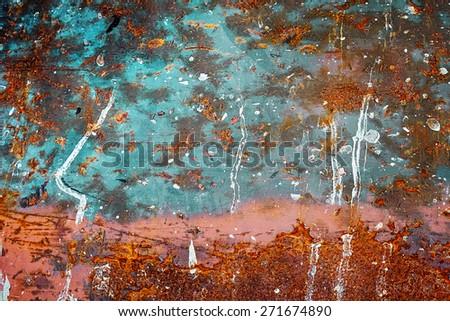 rust texture background - stock photo