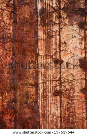 rust wall background