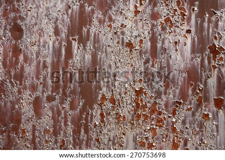 Rust wall background - stock photo
