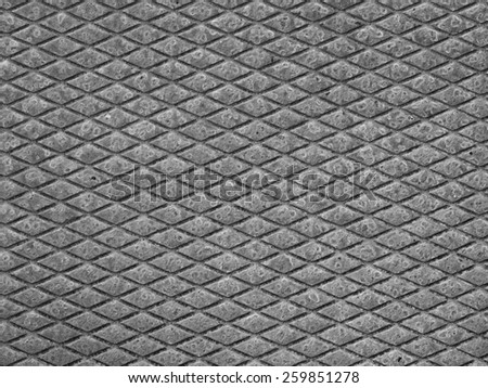 Rusted diamond steel plate useful as a background - stock photo