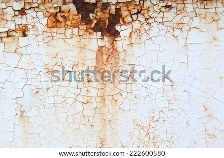 Rusted metal color textures
