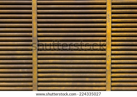 Rusted Metal Grille Texture
