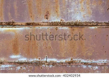 Rusted metal texture wall scratch texture background - stock photo