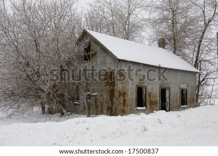 Rusted Old House