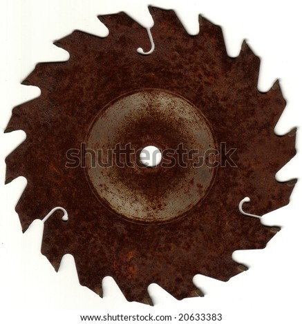 Rusted Saw Blade