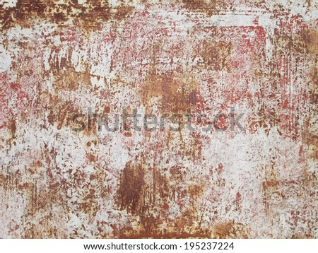 Rusted steel background - stock photo