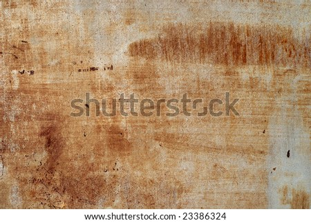 Rusted steel texture - stock photo