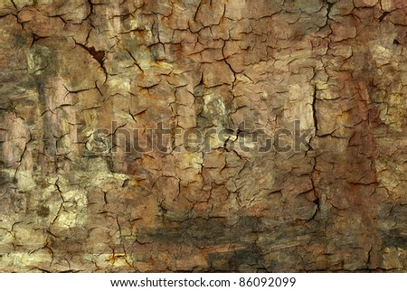 Rustic and cracked background texture. - stock photo