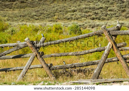 Buck And Rail Fence Stock Images, Royalty-Free Images & Vectors ...