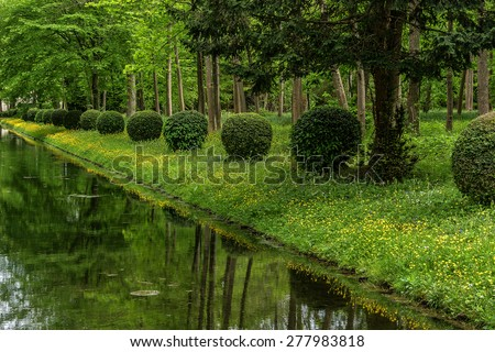 Anglo french stock photos royalty free images vectors for Jardin chinois paris