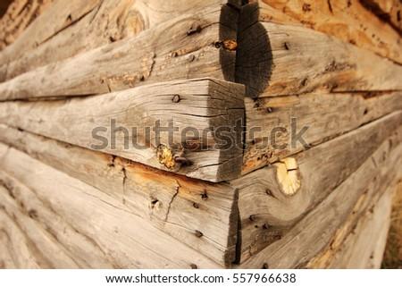 Log Cabin Corner Joints Stock Images Royalty Free Images