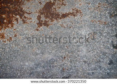 Rustic metal background - stock photo