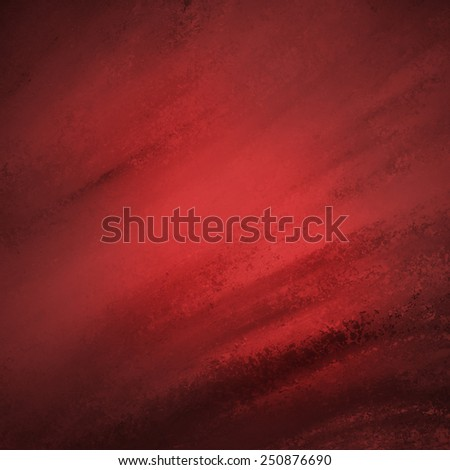 rustic red grunge background with darker red grungy border and vintage texture design - stock photo