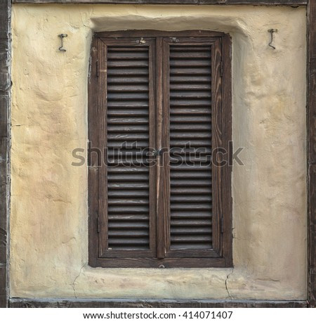 Wood Shutters Stock Images Royalty Free Images Vectors Shutterstock