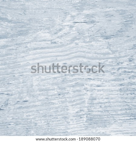 rustic wood structure faded in color light blue background - stock photo