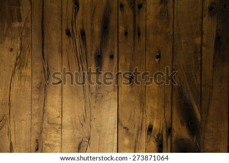 Rustic wooden floor background - stock photo