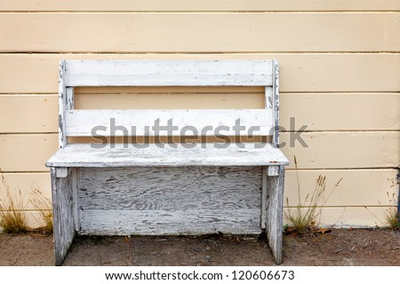 flowers and s containers picture stock bench w photo cottage garden of with image full
