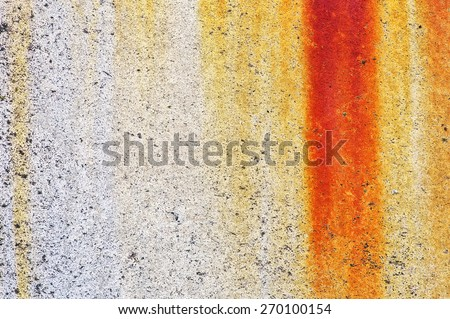 Rusty and grungy texture background - stock photo