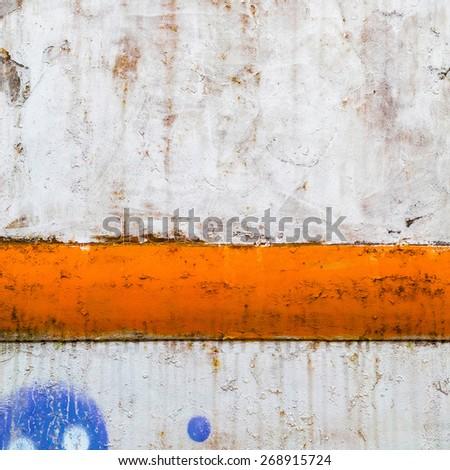 Rusty-colored grunge background, closeup. - stock photo