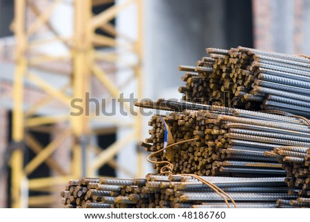 Rusty High Tensile Deformed Steel Bar