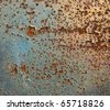 Rusty iron - stock photo
