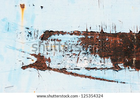 Rusty metal grunge background
