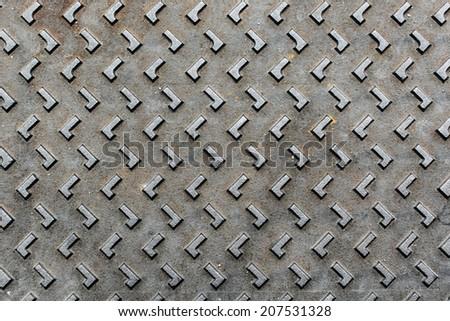 Rusty metallic background - stock photo