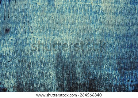 rusty metallic background with shabby old paint and corrosion - stock photo