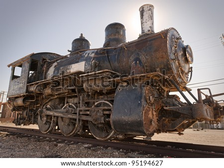 Rusty Old Steam Engine