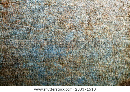 rusty scratched metal plate