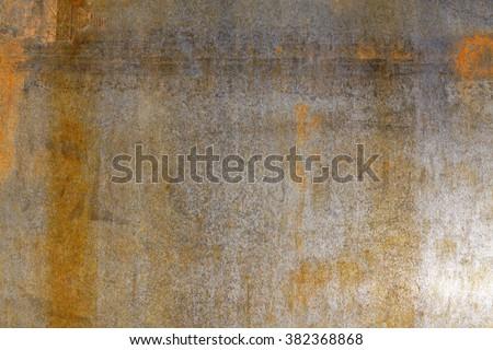 rusty steel - stock photo