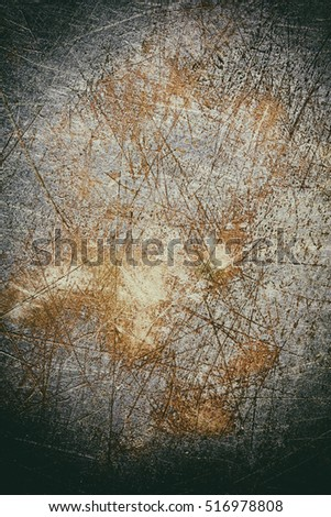 rusty steel sheet of metal