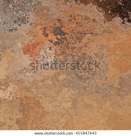 Rusty surface background with corrosion of different types