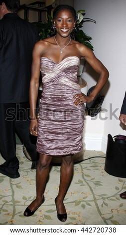 Rutina Wesley at the Essence Black Women in Hollywood Luncheon held at the Beverly Hills Hotel in Beverly Hills, USA on February 19, 2009. - stock photo
