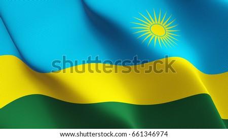 Rwanda Flag Stock Images RoyaltyFree Images Vectors Shutterstock - Rwanda flag