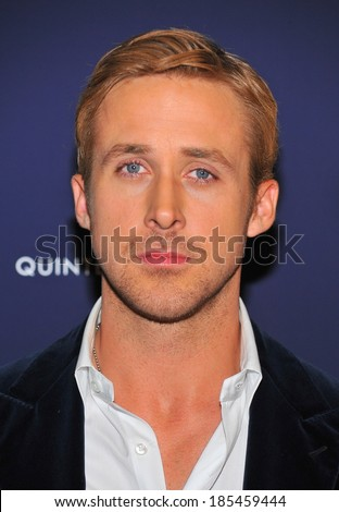Ryan Gosling at BLUE VALENTINE Premiere, MoMA Museum of Modern Art, New York, NY December 7, 2010 - stock photo