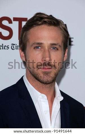 "Ryan Gosling at the Los Angeles Premiere of ""Drive"" as part of the L.A. Film Festival, Regal Cinemas, Los Angeles, CA 06-17-11 - stock photo"