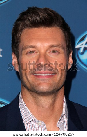 Ryan Seacrest at FOX's American Idol Season 12 Premiere Event, UCLA, Los Angeles, CA 01-09-13