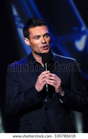 "Ryan Seacrest at the ""American Idol"" Season 10 Judges Announcement, Forum, Inglewood, CA. 09-22-10"