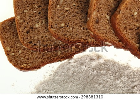 Rye bread and rye flour
