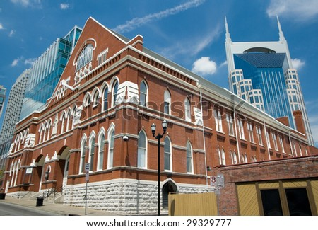 Ryman Auditorium, Nashville - stock photo
