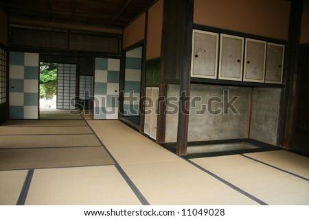 Ryokan - Kastura Imperial Village, Kyoto, Japan - stock photo