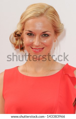 Sabine Lisicki arriving for the WTA Pre-Wimbledon Party 2013 at the Kensington Roof Gardens, London. 20/06/2013