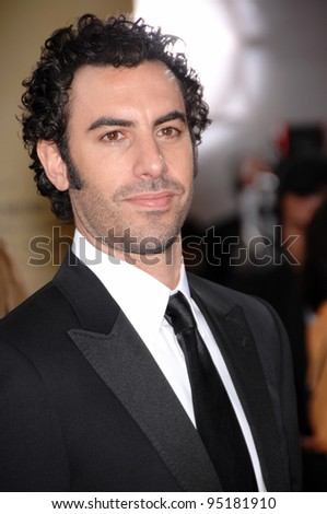 Sacha Baron Cohen at the 79th Annual Academy Awards at the Kodak Theatre, Hollywood. February 26, 2007  Los Angeles, CA Picture: Paul Smith / Featureflash - stock photo