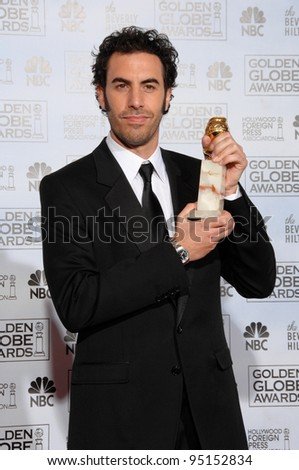 SACHA BARON COHEN at the 64th Annual Golden Globe Awards at the Beverly Hilton Hotel. January 15, 2007 Beverly Hills, CA Picture: Paul Smith / Featureflash