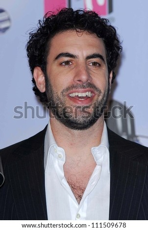 Sacha Baron Cohen in the press room at the 2007 MTV Movie Awards. Gibson Amphitheatre, Universal City, CA. 06-03-07